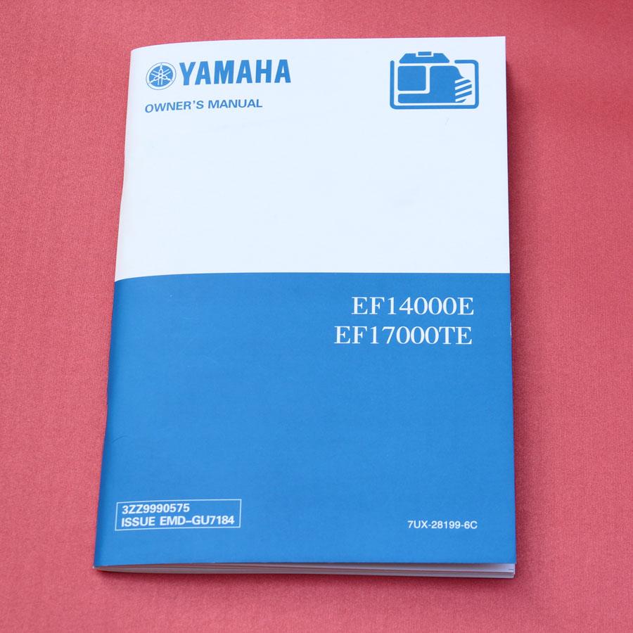 雅马哈发电机组用户手册-骑马订